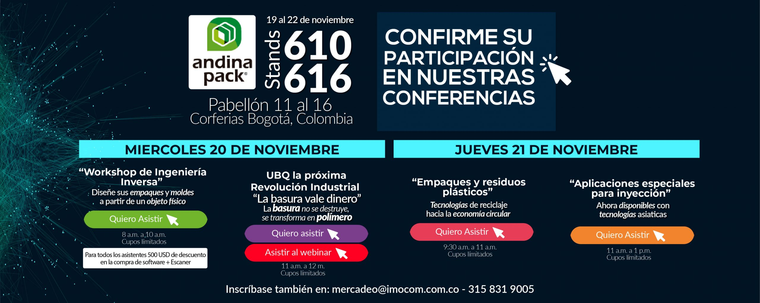 Conferencias IMOCOM Andinapack 2019